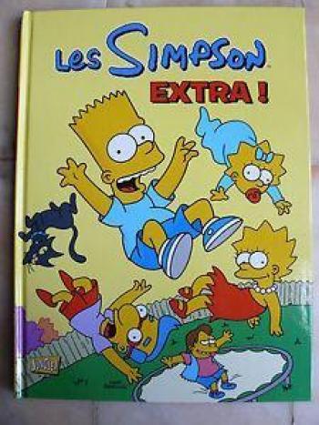 Couverture de l'album Les Simpson (Jungle) - HS. Extra !