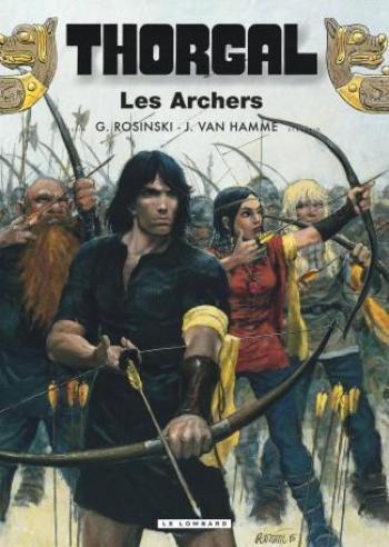 Couverture de l'album Thorgal - 9. Les Archers