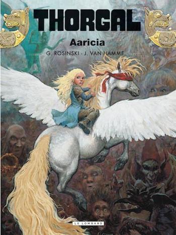 Couverture de l'album Thorgal - 14. Aaricia