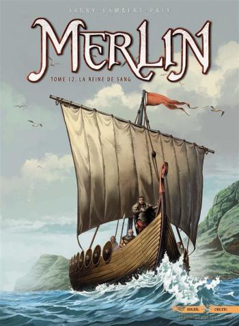 Couverture de l'album Merlin - 12. La Reine de sang
