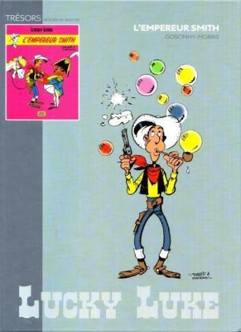 Couverture de l'album Lucky Luke - 45. L'Empereur Smith