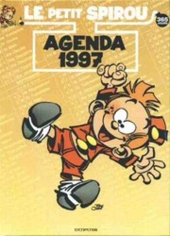 Couverture de l'album Le Petit Spirou - HS. Agenda 1997