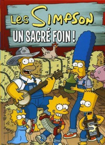 Couverture de l'album Les Simpson (Jungle) - 2. Un sacré foin