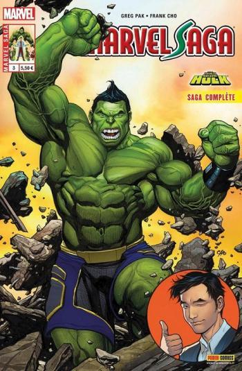 Couverture de l'album Marvel Saga (V3) - 3. Le carrément démentiel Hulk