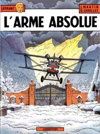 Couverture de l'album Lefranc - 8. L'arme absolue