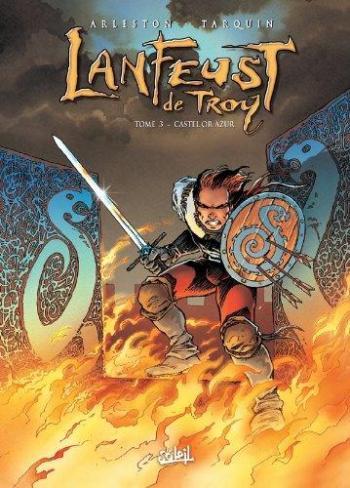 Couverture de l'album Lanfeust de Troy - 3. Castel Or-Azur