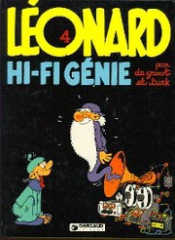 Couverture de l'album Léonard - 4. Hi-fi génie