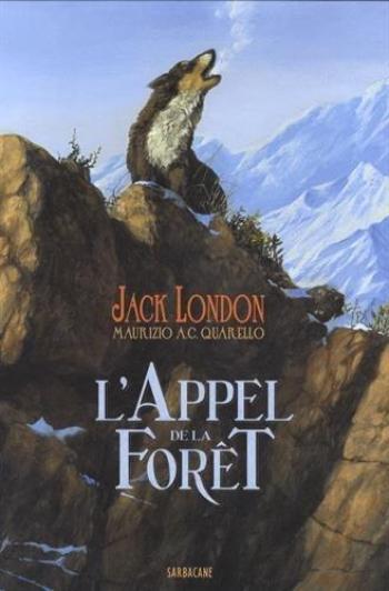 Couverture de l'album L'appel de la forêt (Sarbacane) (One-shot)