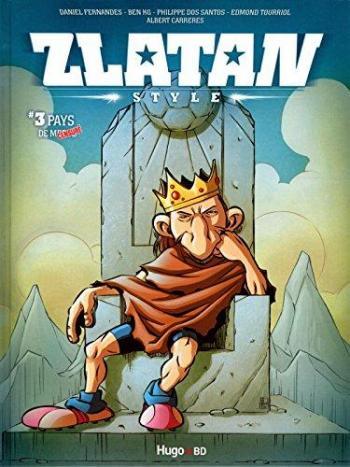 """Couverture de l'album Zlatan Style - 3. Pays de """"censuré"""""""
