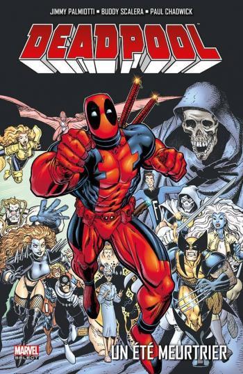 Couverture de l'album Deadpool (Marvel Select) - 6. Un été meutrier