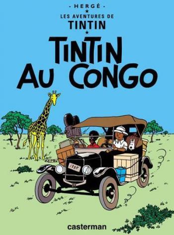 Couverture de l'album Les Aventures de Tintin - 2. Tintin au Congo