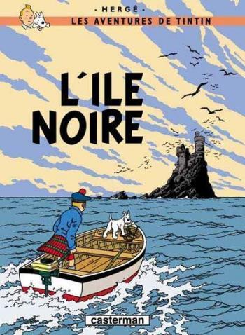 Couverture de l'album Les Aventures de Tintin - 7. L'Île noire