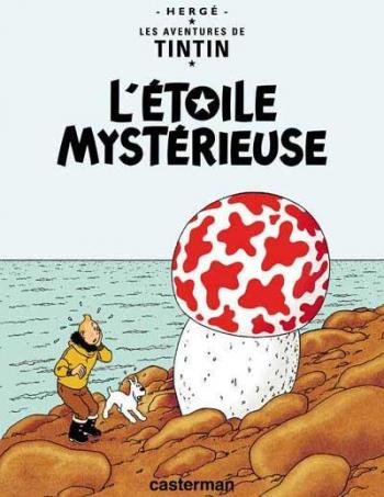 Couverture de l'album Les Aventures de Tintin - 10. L'Étoile mystérieuse
