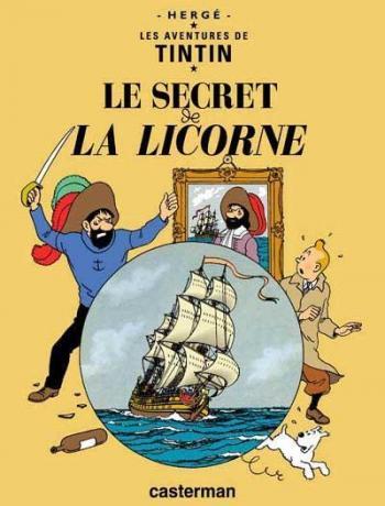 Couverture de l'album Les Aventures de Tintin - 11. Le Secret de la Licorne
