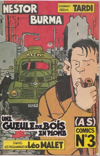 Couverture de l'album (AS) Comics - 3. Nestor Burma - Une gueule de bois en plomb (1/3)