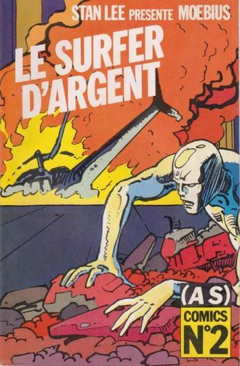 Couverture de l'album (AS) Comics - 2. Le Surfer d'argent - Parabole 2/2