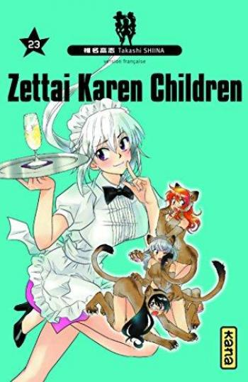 Couverture de l'album Zettai Karen Children - 23. Tome 23
