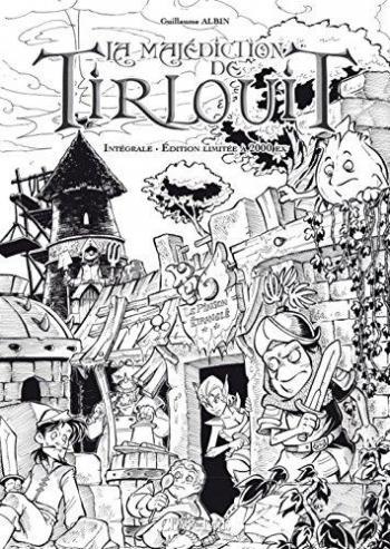 Couverture de l'album La Malédiction de Tirlouit - INT. La Malédiction de Tirlouit - Tomes 1 et 2