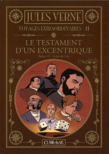Couverture de l'album Voyages extraordinaires - 11. Le Testament d'un excentrique I - Le Jeu de l'oie
