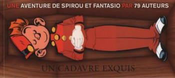 Couverture de l'album Une aventure de Spirou et Fantasio par... (Le Spirou de…) - HS. Un cadavre exquis