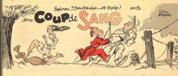 Couverture de l'album Spirou et Fantasio - HS. Coup de sang