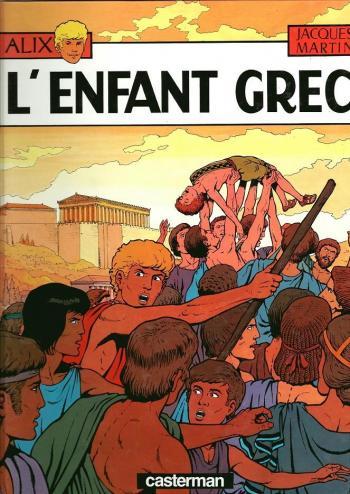 Couverture de l'album Alix - 15. L'Enfant grec