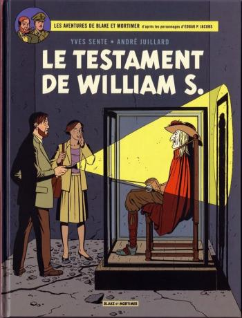Couverture de l'album Blake et Mortimer (Blake et Mortimer) - 24. Le Testament de William S.