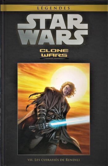 Couverture de l'album Star Wars (Collection Hachette) - 32. Clone Wars VII - Les cuirassés de Rendili