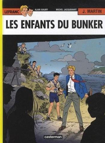 Couverture de l'album Lefranc - 22. Les Enfants du bunker