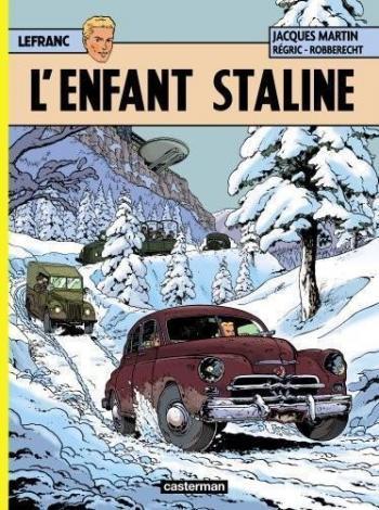 Couverture de l'album Lefranc - 24. L'Enfant Staline