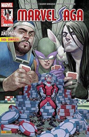 Couverture de l'album Marvel Saga (V3) - 4. Le casse du siècle