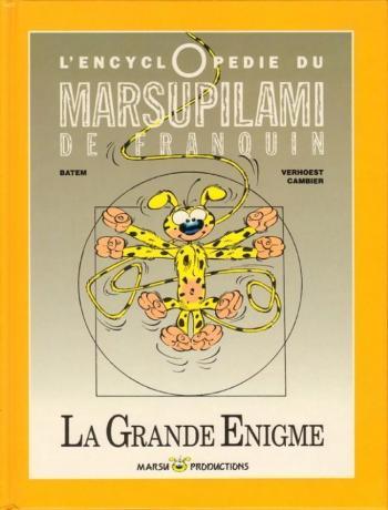 Couverture de l'album Marsupilami - HS. L'Encyclopédie du Marsupilami