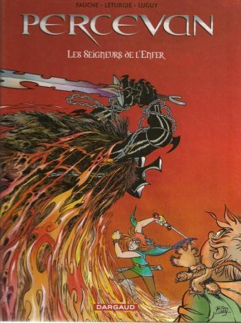 Couverture de l'album Percevan - 7. Les Seigneurs de l'enfer
