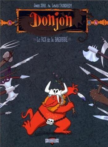 Couverture de l'album Donjon Zénith - 2. Le Roi de la bagarre
