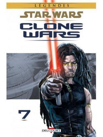 Couverture de l'album Star Wars - Clone Wars - 7. Les Cuirassés de Rendili