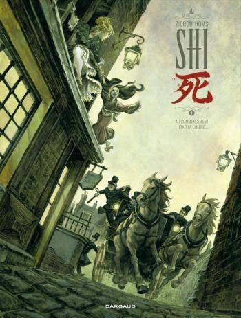 Couverture de l'album Shi (Dargaud) - 1. Au commencement était la colère...