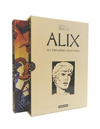 Couverture de l'album Alix - COF. Les premières aventures