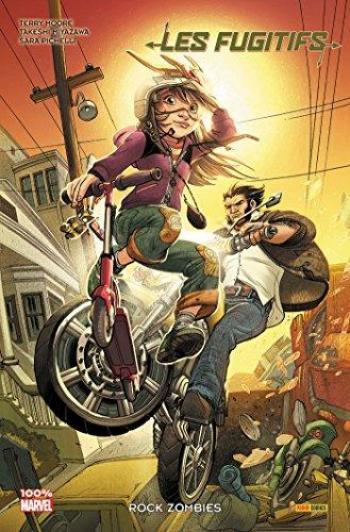 Couverture de l'album Les Fugitifs (100% Marvel) - 2. Rock Zombies