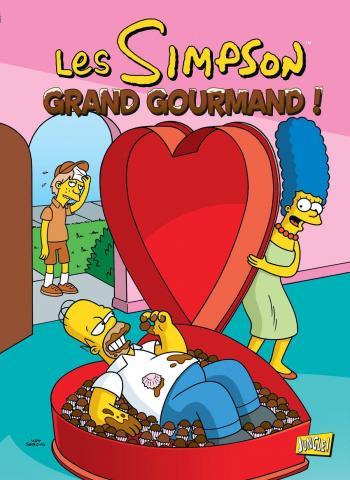 Couverture de l'album Les Simpson (Jungle) - 32. Grand Gourmand !