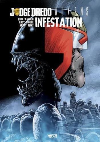 Couverture de l'album Judge Dredd / Aliens / Predator - 1. Infestation