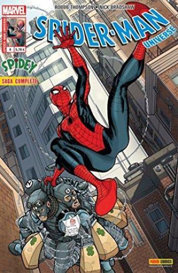 Couverture de l'album Spider-Man Universe (V2) - 4. Spidey - Le Débutant
