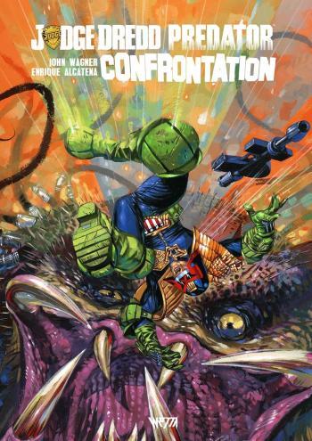 Couverture de l'album Judge Dredd / Aliens / Predator - 2. Confrontation