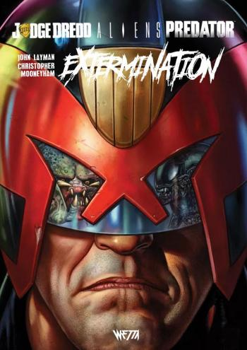 Couverture de l'album Judge Dredd / Aliens / Predator - 3. Extermination