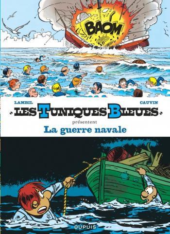 Couverture de l'album Les Tuniques bleues présentent - 7. La Guerre navale