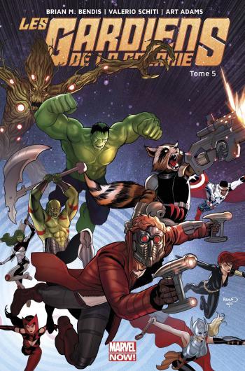 Couverture de l'album Les Gardiens de la Galaxie (Marvel Now!) - 5. Les Gardiens rencontrent les Avengers