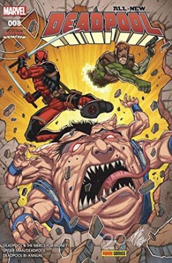 Couverture de l'album All-New Deadpool - 8. On n'est pas des bêtes !