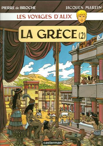 Couverture de l'album Les Voyages d'Alix - 4. La Grèce (2)
