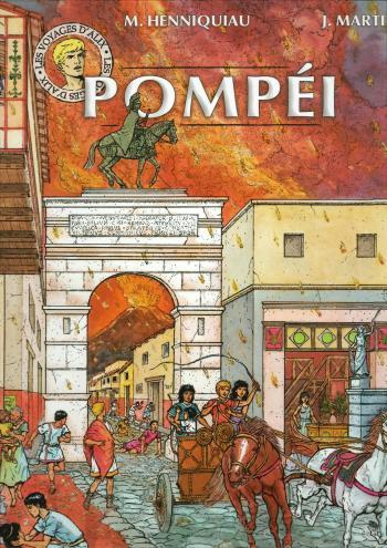 Couverture de l'album Les Voyages d'Alix - 14. Pompéi