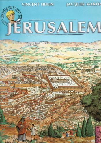 Couverture de l'album Les Voyages d'Alix - 13. Jérusalem