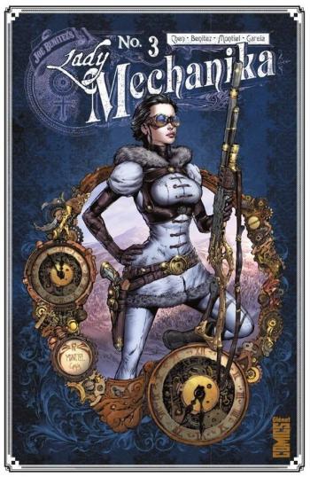 Couverture de l'album Lady Mechanika - 3. La tablette des destinées